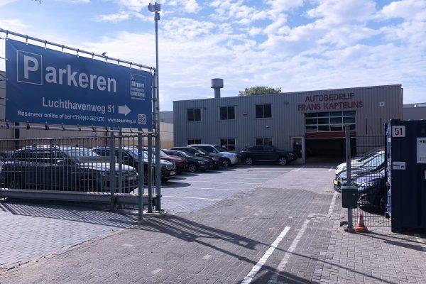 Aanzicht voor Airport Eindhoven Parking