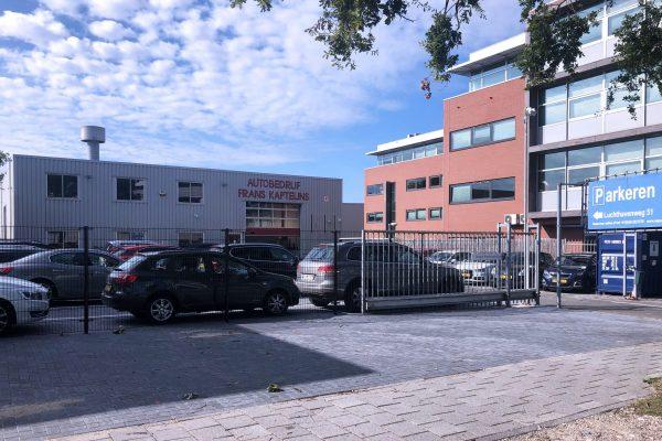 Aanzicht locatie Airport Eindhoven Parking